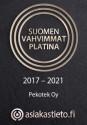 Suomen vahvimmat platina logo